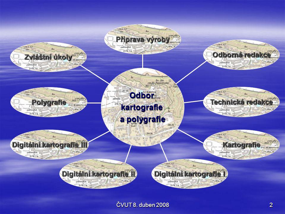 Odbor kartografie a polygrafie