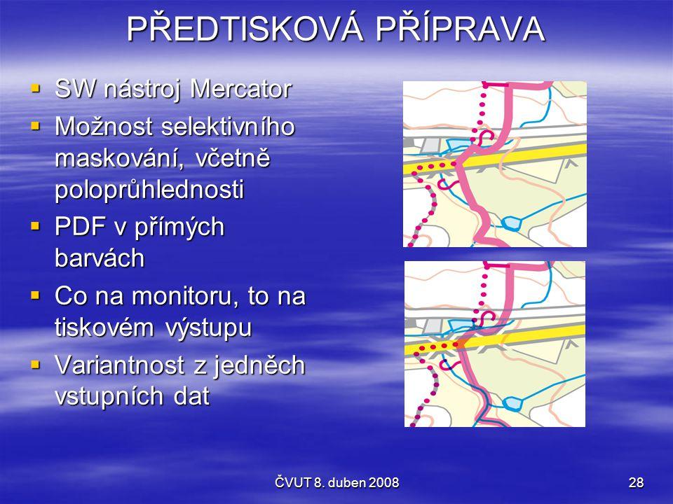 PŘEDTISKOVÁ PŘÍPRAVA SW nástroj Mercator
