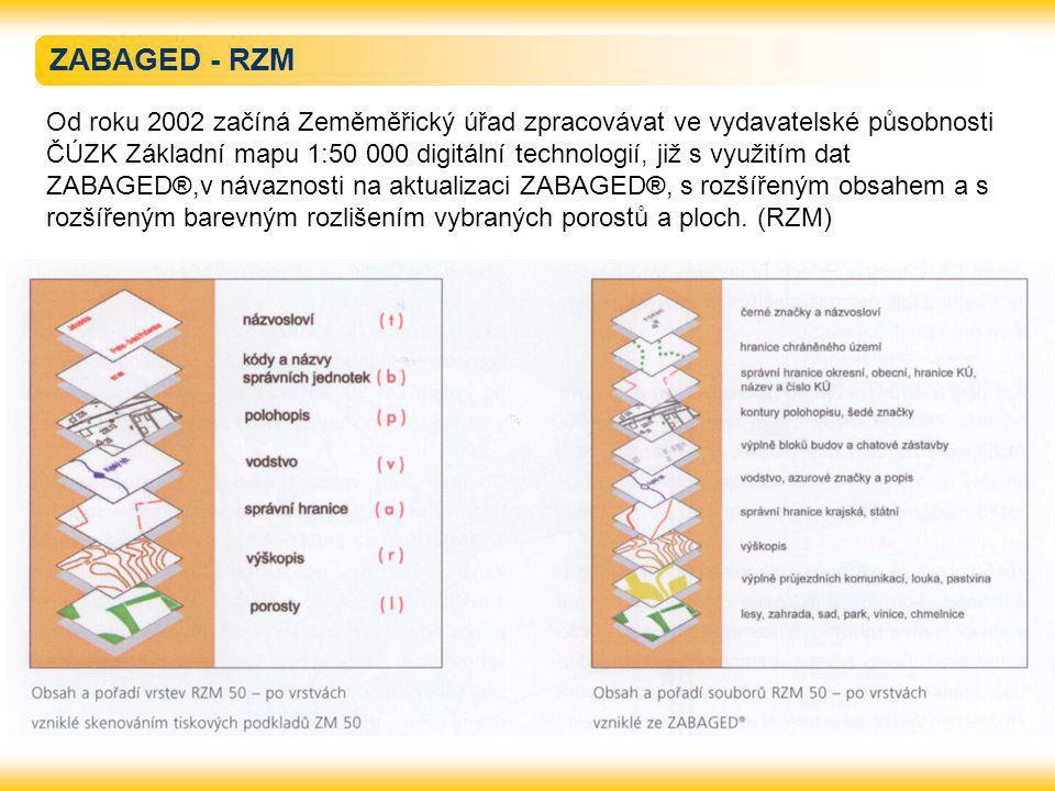 ZABAGED - RZM