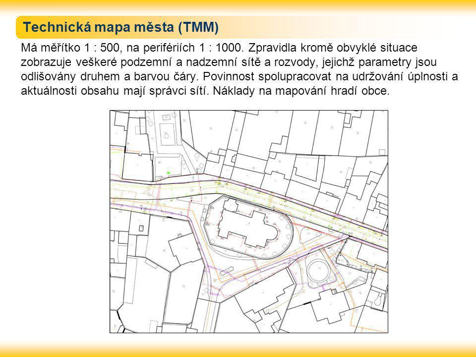 Technická mapa města (TMM)