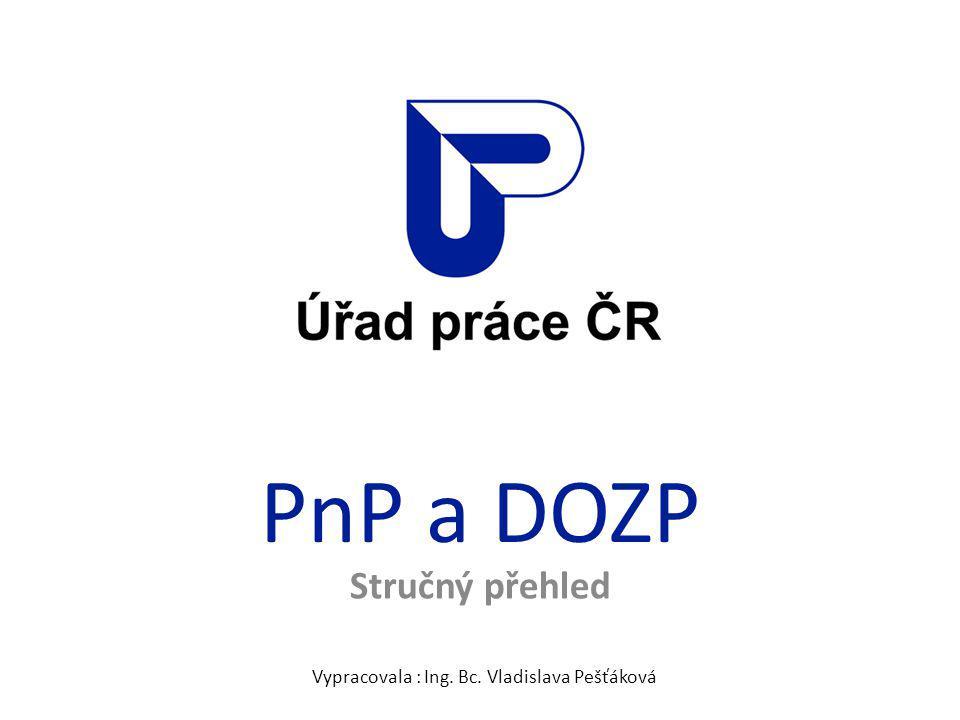 Vypracovala : Ing. Bc. Vladislava Pešťáková
