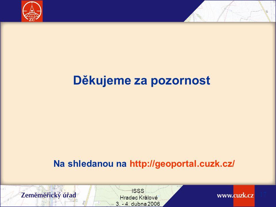 Na shledanou na http://geoportal.cuzk.cz/