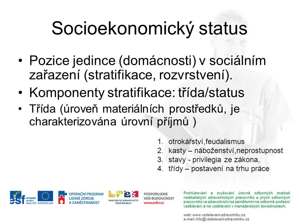 Socioekonomický status