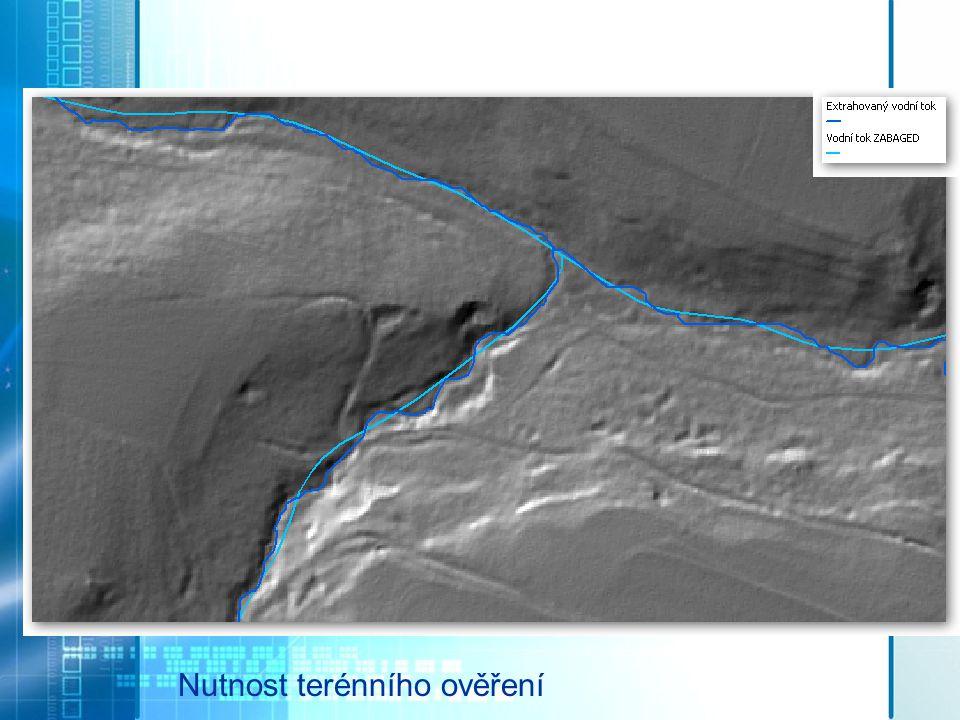"""Vodní tok, rozvodnice Použití """"Arc Hydro Tools 9"""