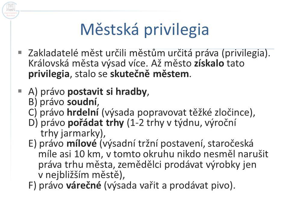 Městská privilegia
