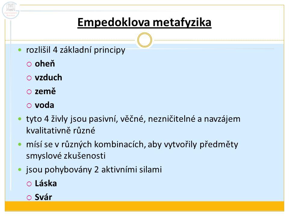 Empedoklova metafyzika