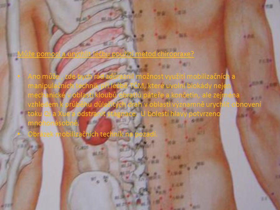 Může pomoci a urychlit léčbu použití metod chiropraxe