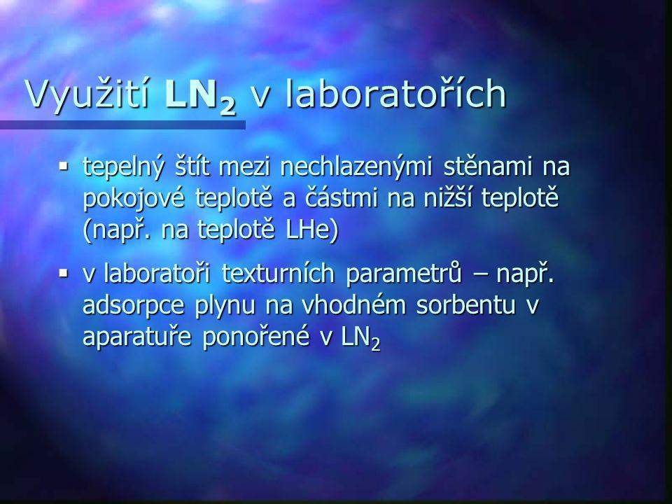 Využití LN2 v laboratořích