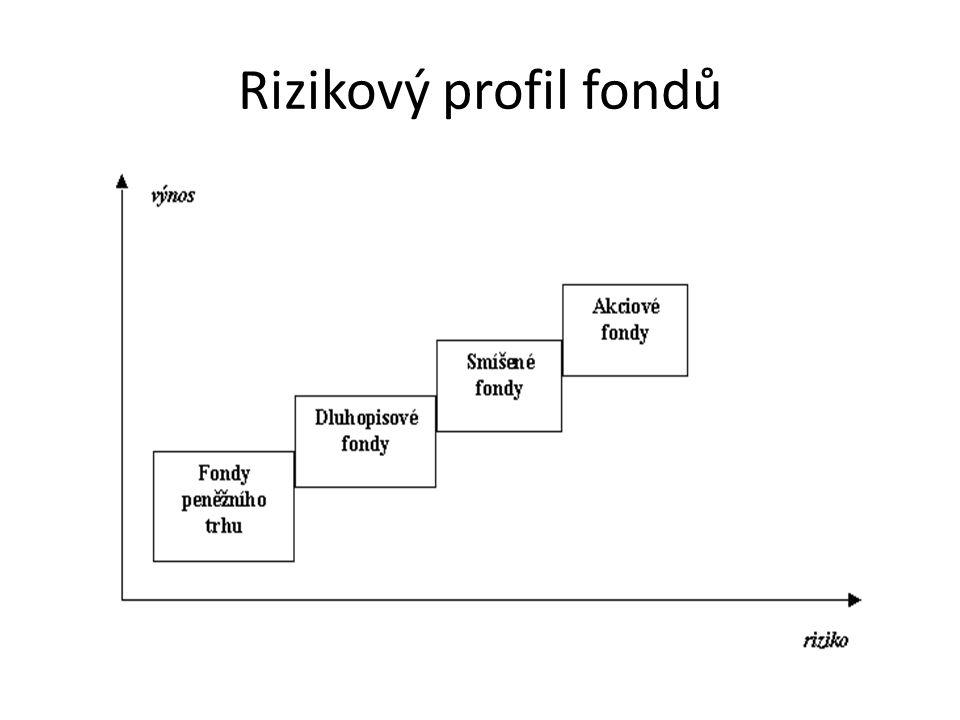 Rizikový profil fondů