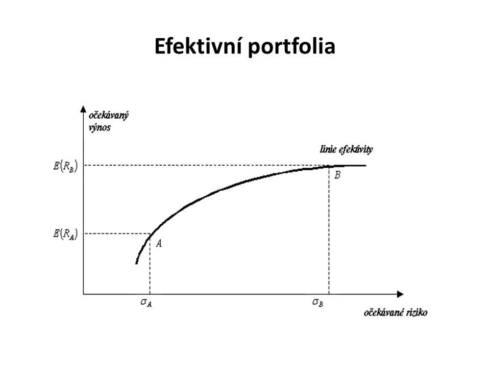 Efektivní portfolia