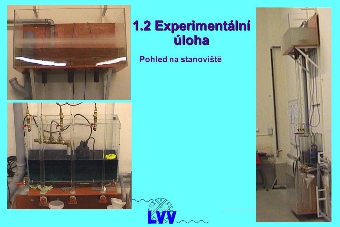 1.2 Experimentální úloha Pohled na stanoviště