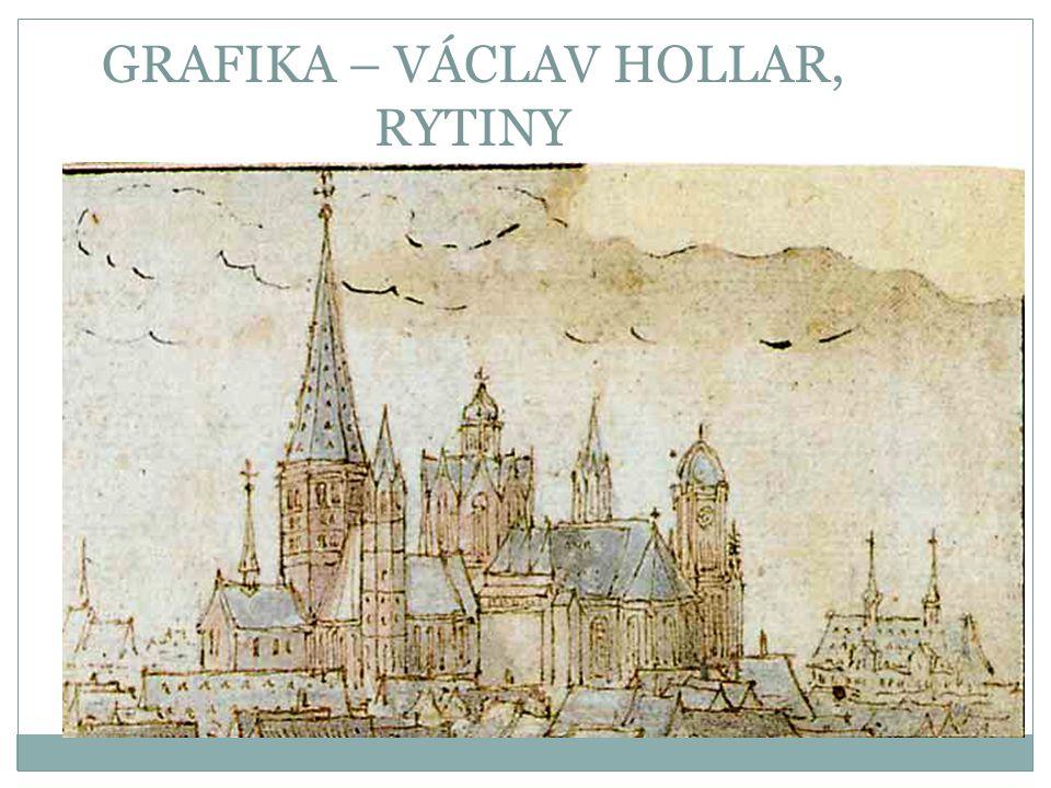 GRAFIKA – VÁCLAV HOLLAR, RYTINY