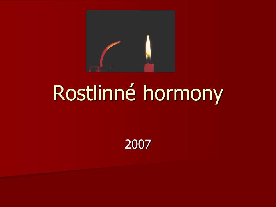 Rostlinné hormony 2007