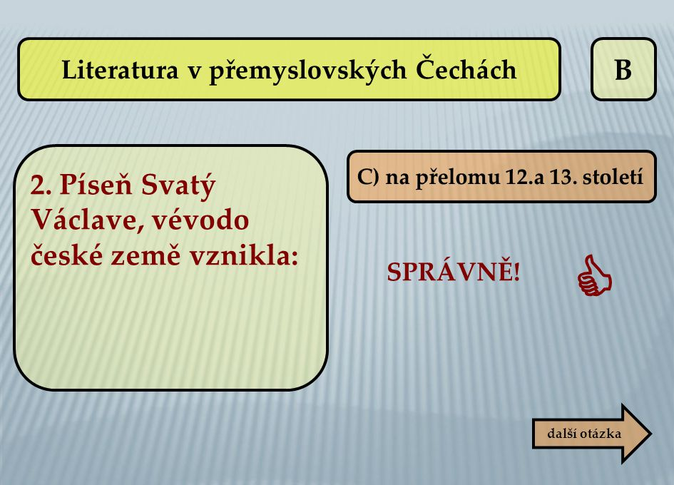Literatura v přemyslovských Čechách