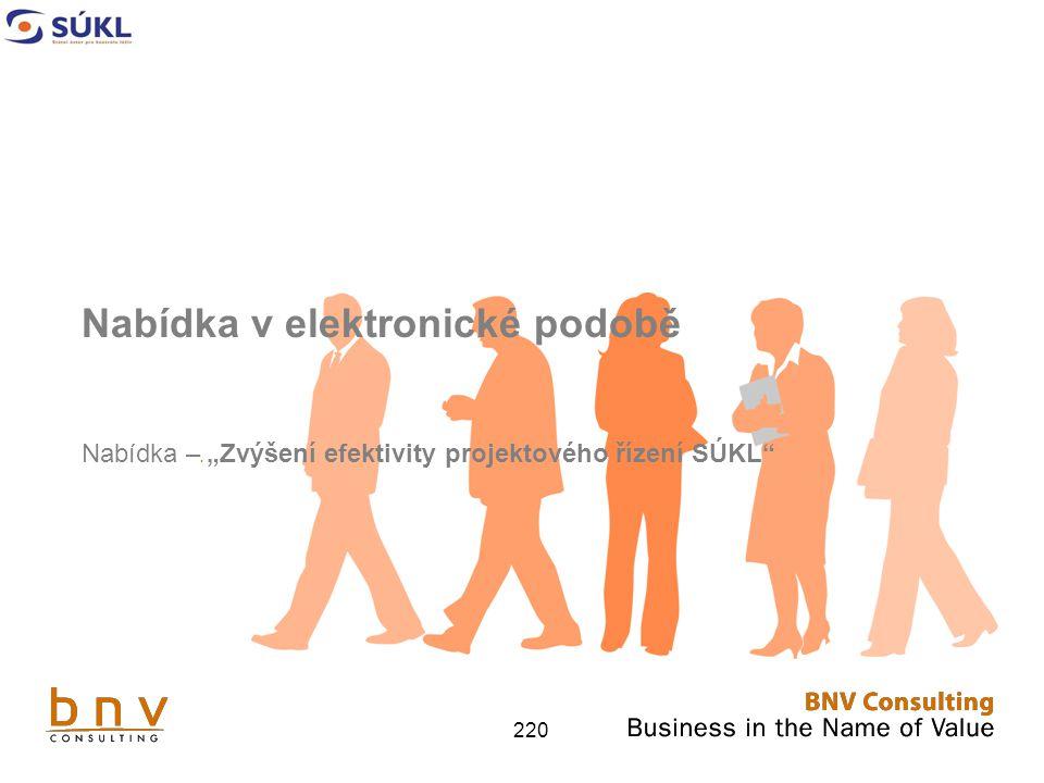 Nabídka v elektronické podobě
