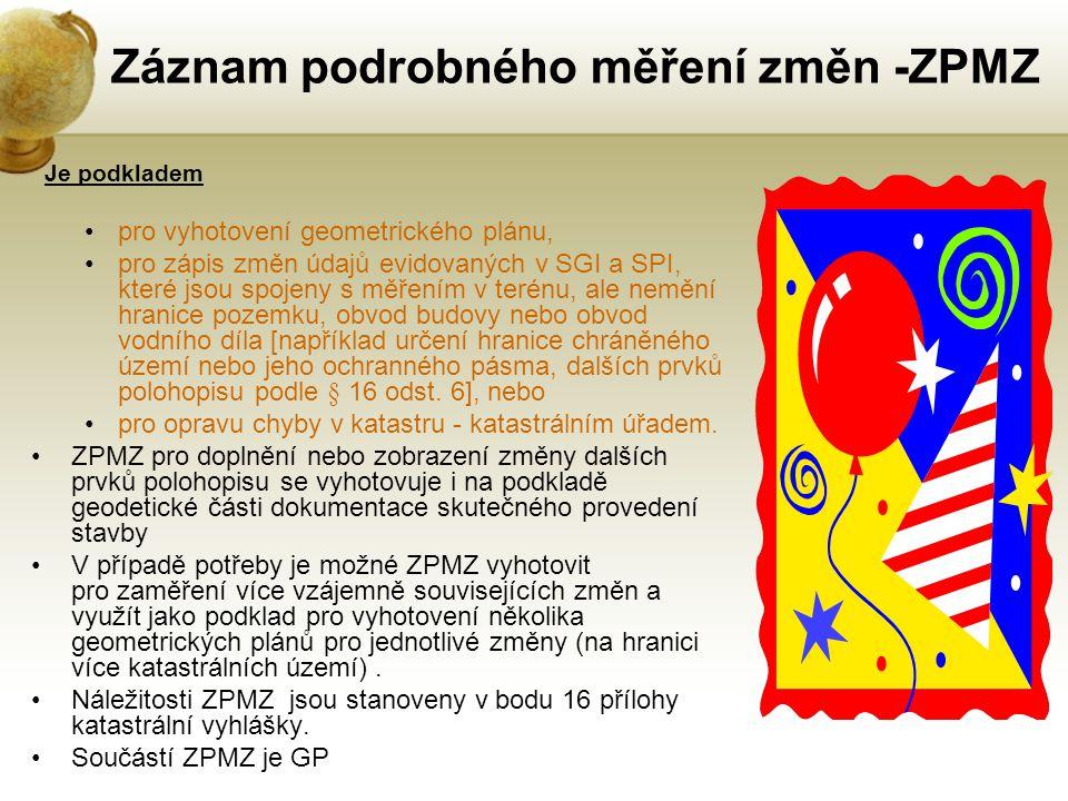 Záznam podrobného měření změn -ZPMZ