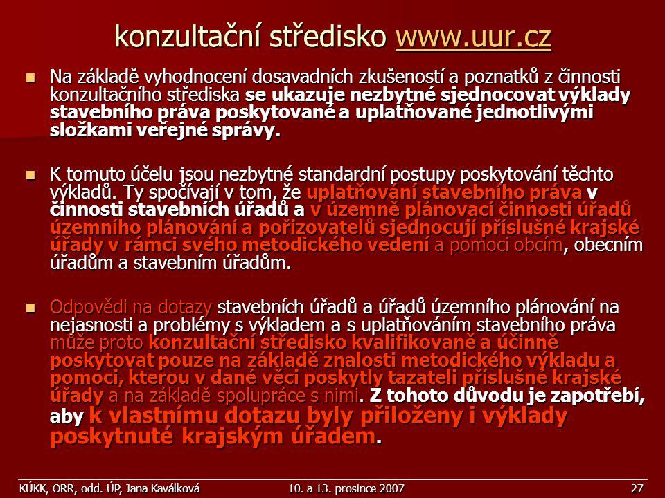 konzultační středisko www.uur.cz