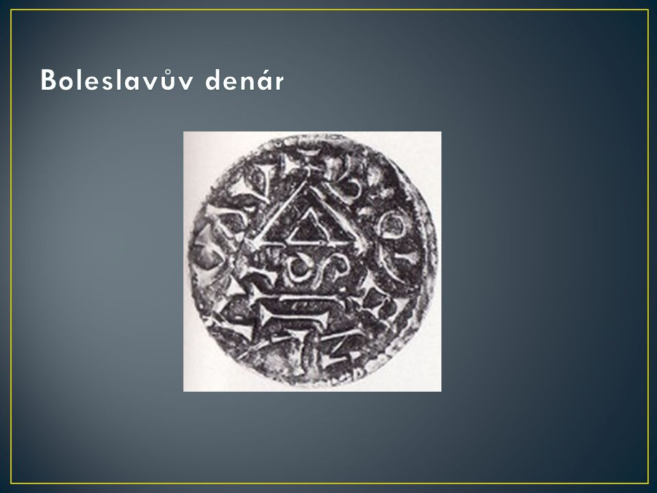Boleslavův denár