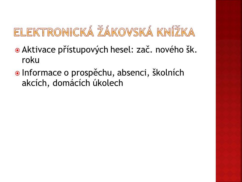 Elektronická žákovská knížka