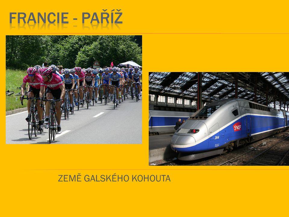 FRANCIE - paříž ZEMĚ GALSKÉHO KOHOUTA