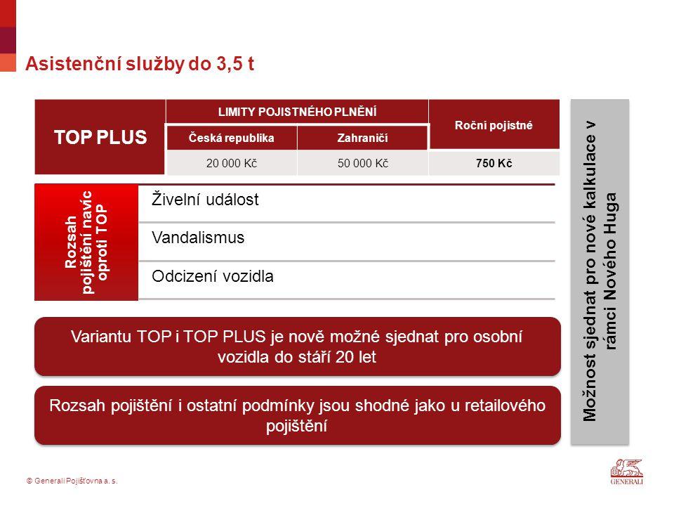 TOP PLUS Asistenční služby do 3,5 t Živelní událost