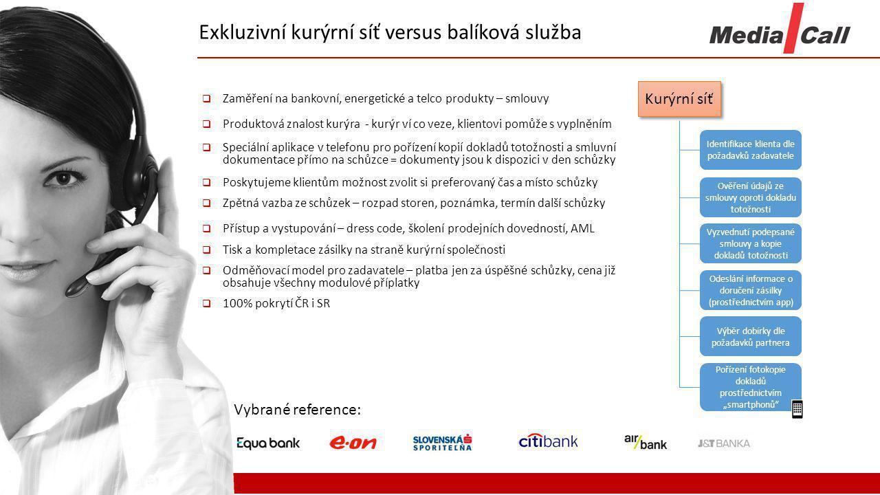 Exkluzivní kurýrní síť versus balíková služba