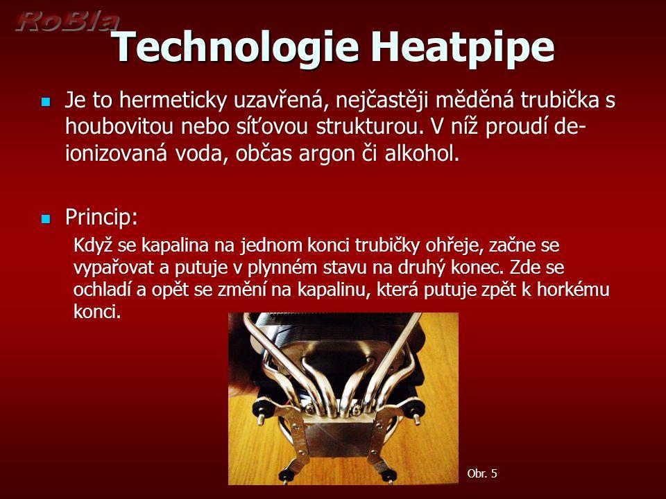 Technologie Heatpipe