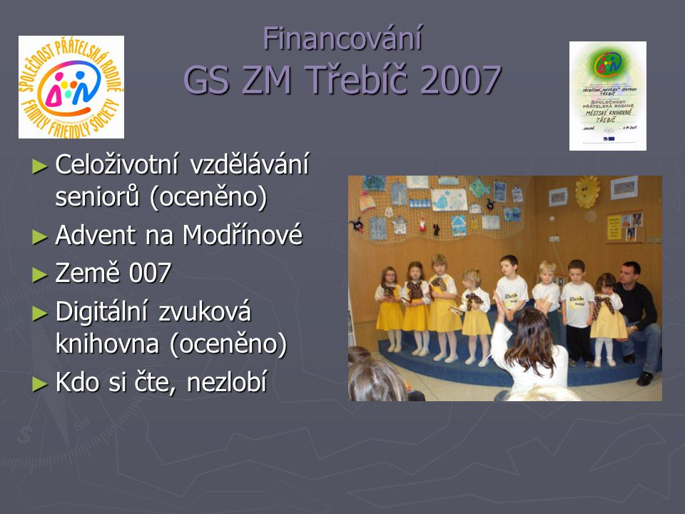 Financování GS ZM Třebíč 2007