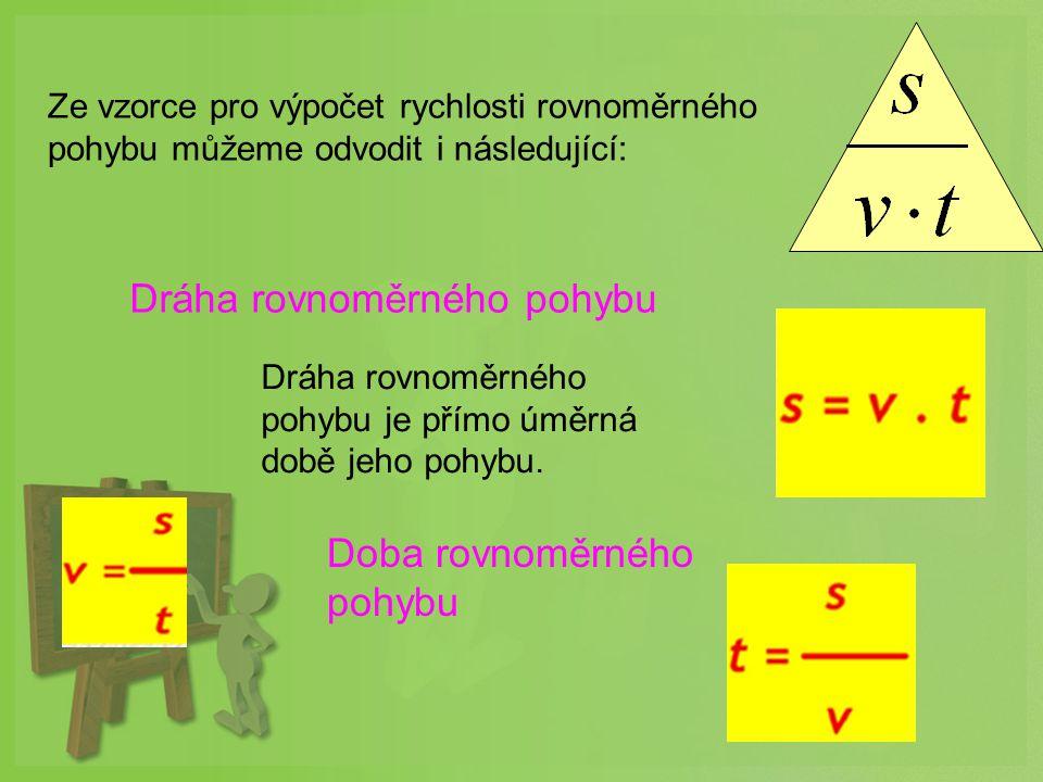 Dráha rovnoměrného pohybu