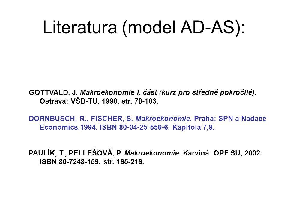 Literatura (model AD-AS):