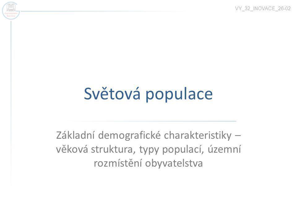 VY_32_INOVACE_26-02 Světová populace.