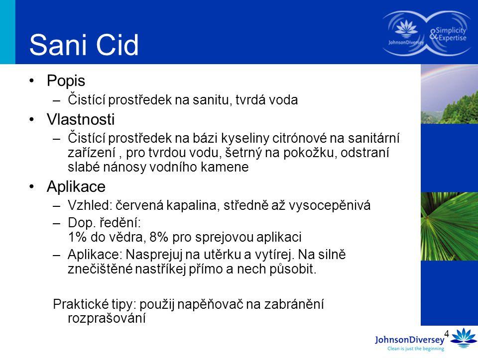 Sani Cid Popis Vlastnosti Aplikace