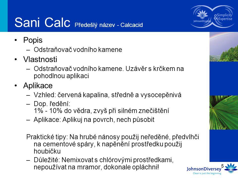 Sani Calc Předešlý název - Calcacid