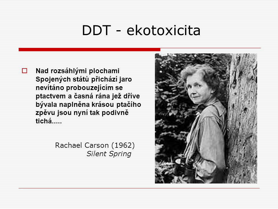 DDT - ekotoxicita