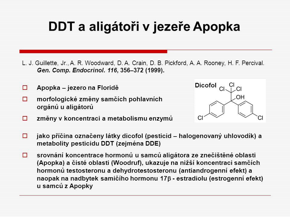 DDT a aligátoři v jezeře Apopka