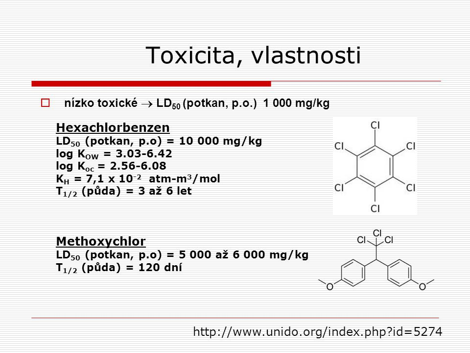 Toxicita, vlastnosti nízko toxické  LD50 (potkan, p.o.) 1 000 mg/kg