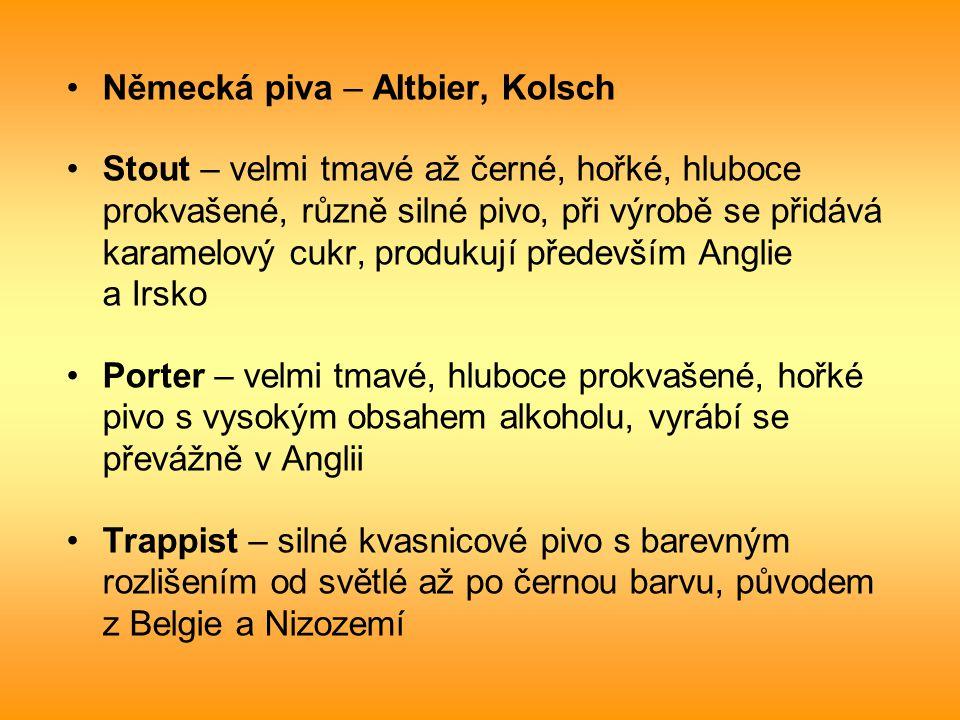 Německá piva – Altbier, Kolsch