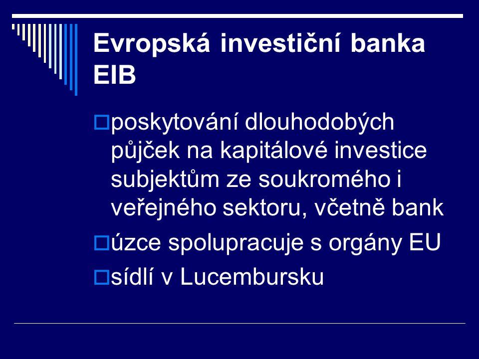Evropská investiční banka EIB