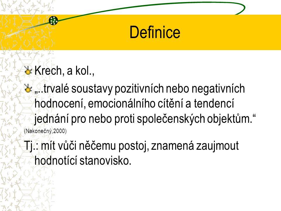 Definice Krech, a kol.,