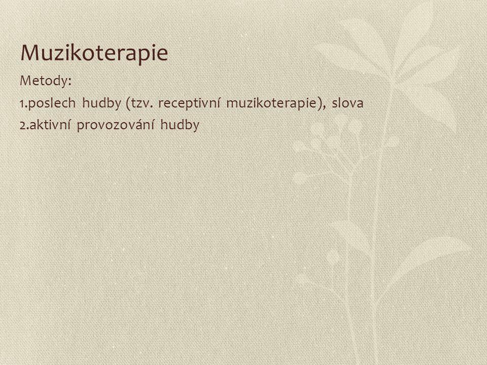 Muzikoterapie Metody: