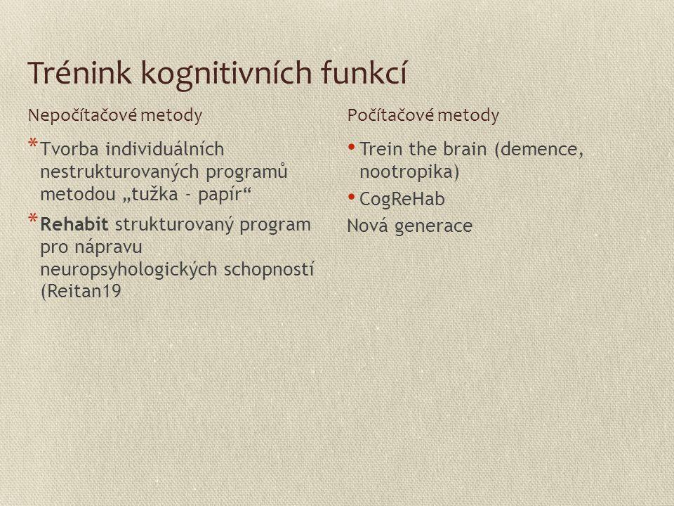 Trénink kognitivních funkcí
