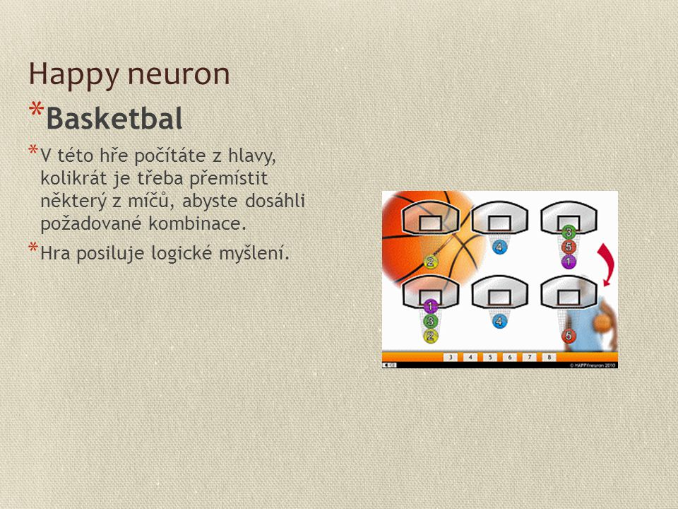 Happy neuron Basketbal