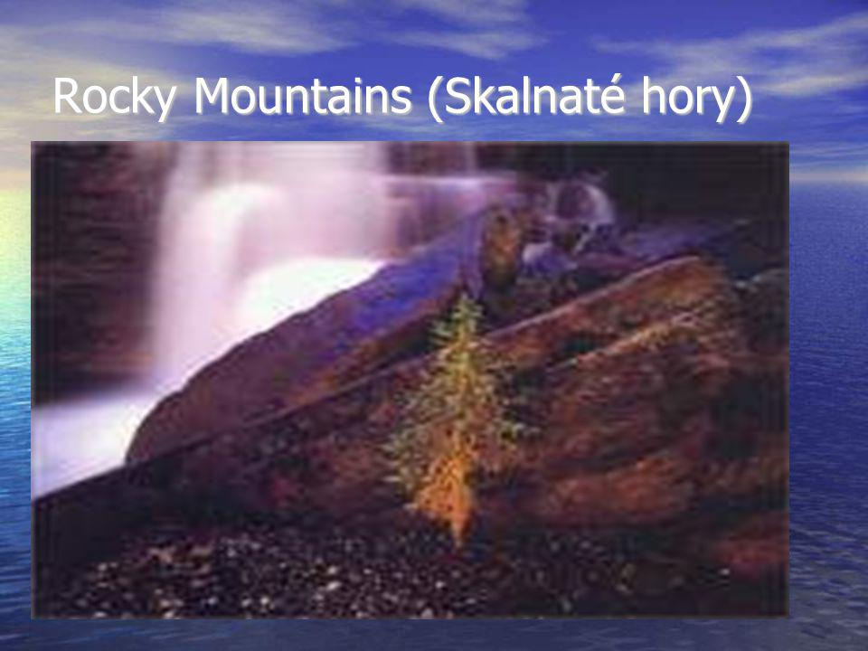 Rocky Mountains (Skalnaté hory)