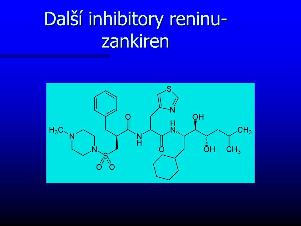 Další inhibitory reninu-zankiren