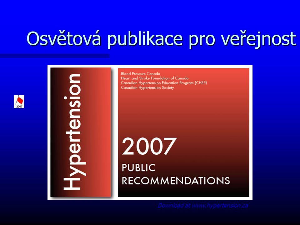 Osvětová publikace pro veřejnost