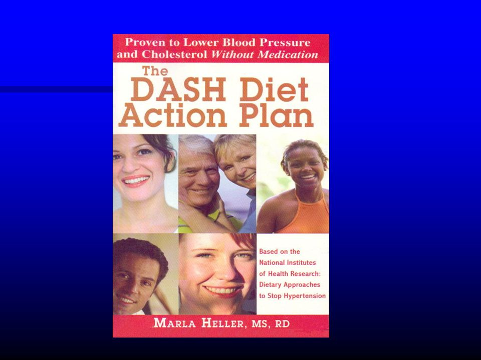 DASH dieta Dietary Approaches to Stop Hypertension