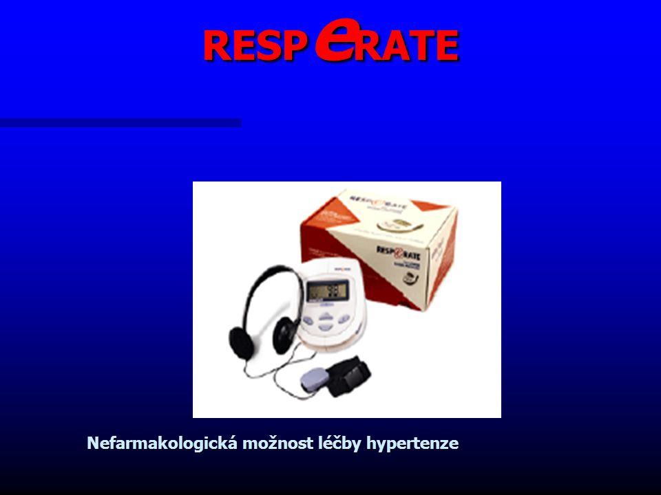 RESPeRATE Nefarmakologická možnost léčby hypertenze