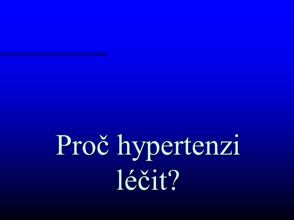 Proč hypertenzi léčit