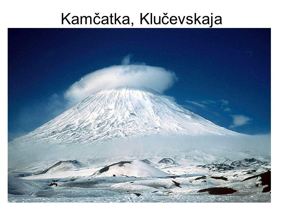 Kamčatka, Klučevskaja