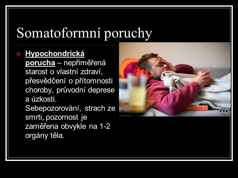 Somatoformní poruchy